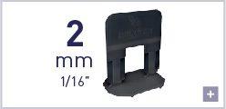 Calzo 2mm 1/16