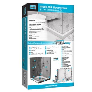 Laticrete Hydro Ban Shower Kit Box Render