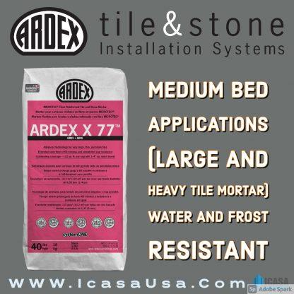 ARDEX X 77™ MICROTEC®